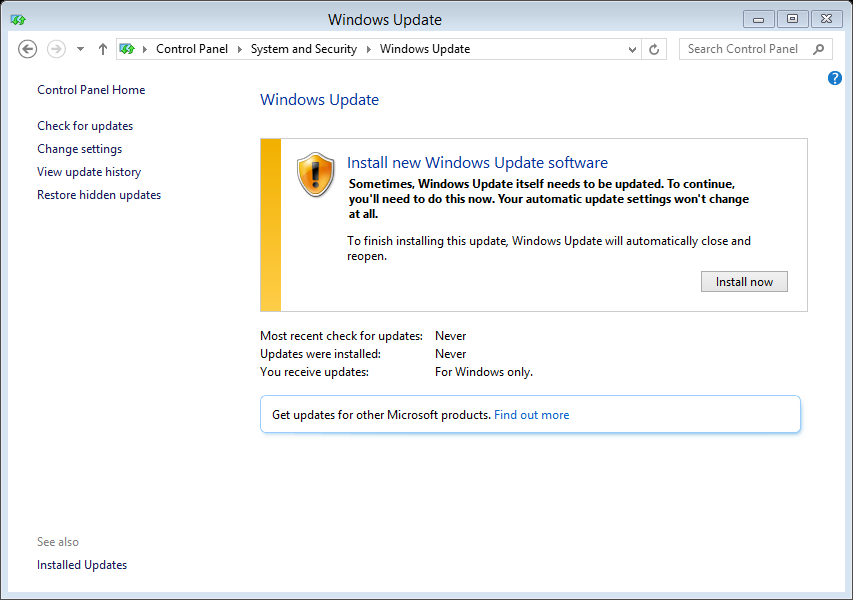 update windows2